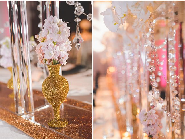 A Columbus Ohio Affair by The Finer Things Event Planning / Pink and Gold / Open Image Studio