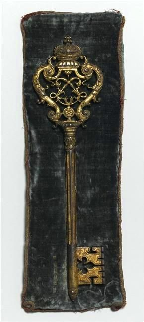 Antique key to Chateau Versailles