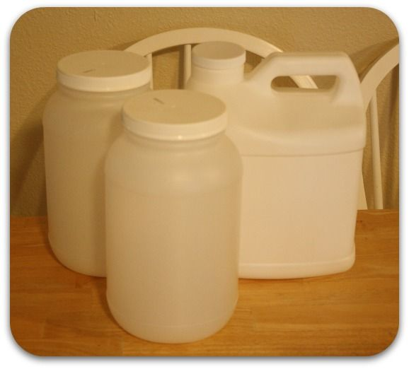 Which Recycled Plastic Containers are Food Safe codes