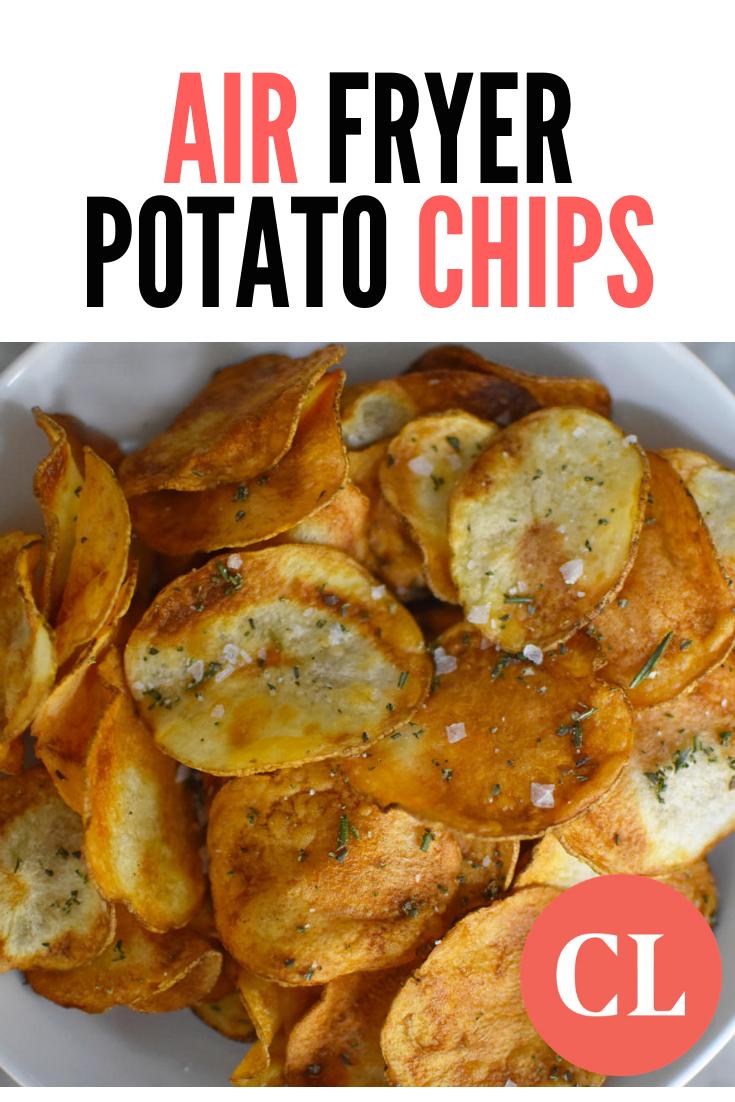 Air Fryer Potato Chips #airfryerrecipes