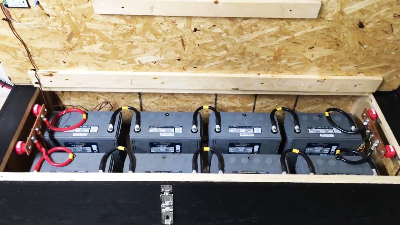Watch The Diy Homemade Emergency Whole Home Emergency Backup System Build Diy Generator Solar Power Diy Diy Videos