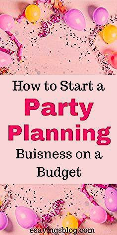 Photo of Start a Party Planning Business on a Budget