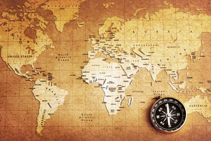 Old compass on world map maps wallpaper pinterest compass old compass on world map wallpaper gumiabroncs Gallery