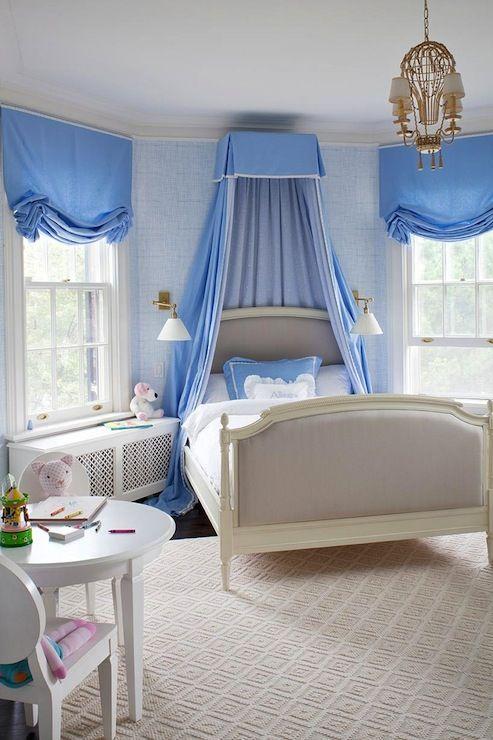Anne Hepfer Designs: Chic Cornflower Blue French Girls