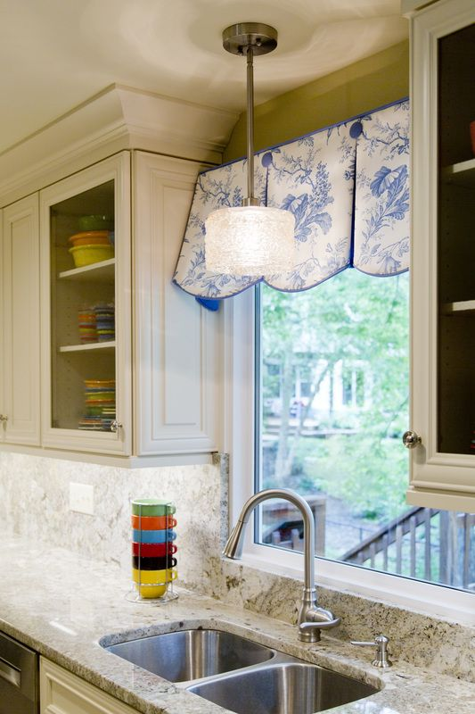 Kitchen Sink Window Curtain Nice And Simple Yoursbydesignstl Kitchen Curta Kitchen Sink Window Kitchen Remodel Countertops Backsplash For White Cabinets