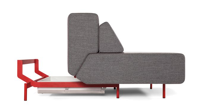 Modern And Comfortable Multifunctional Sofa Pil Low By Redesign Fabric Sofa Bed Upholstered Sofa Bed Low Sofa