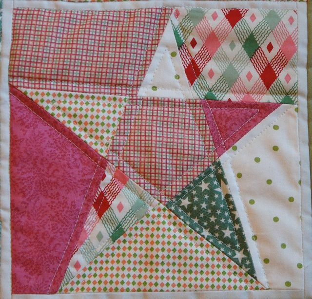 60 Point Star Quilt Block By Sacridote Via Flickr QUILT BLOCKS Extraordinary 5 Point Star Quilt Pattern