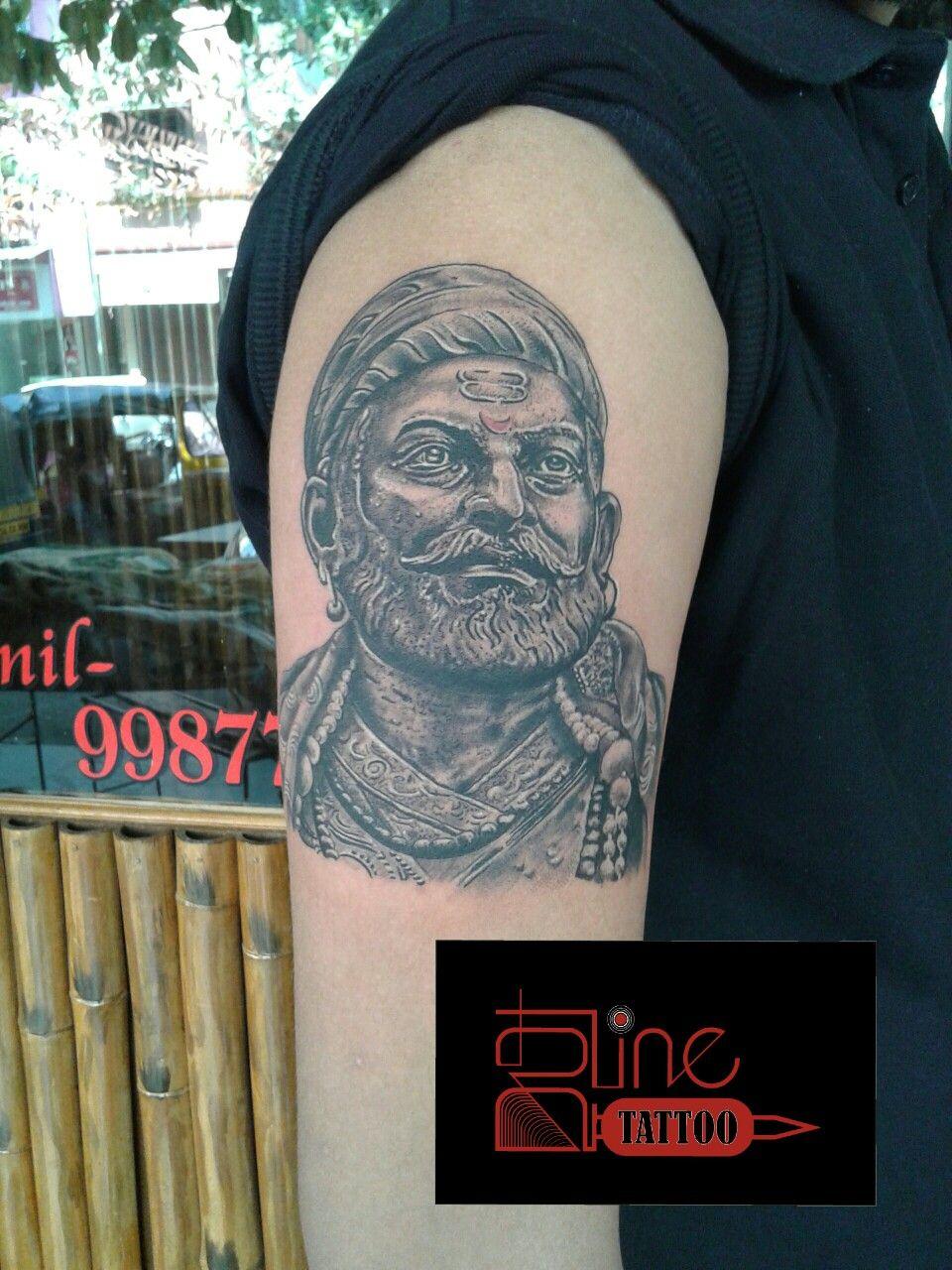 6b04faa211104 Pin by sunil washivale on shivaji maharaj tattoo   Tattoos, Shivaji ...