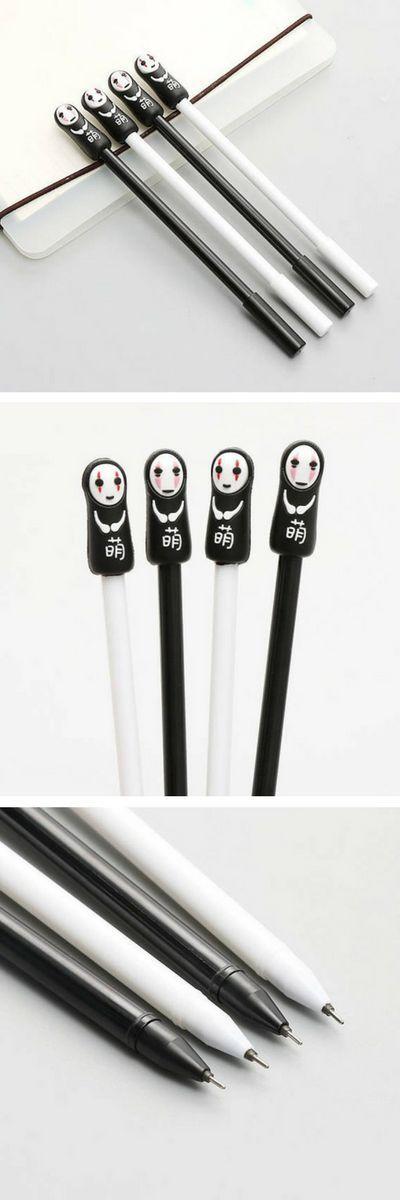 Found on Etsy! No-face Gel Pens - Spirited Away - Studio Ghibli. LOVE these kawaii gel pens