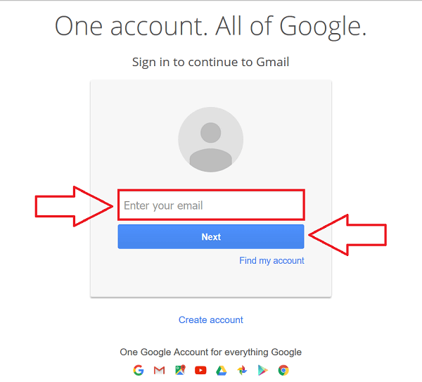 Gmail Account Login Step Account Recovery Accounting Gmail