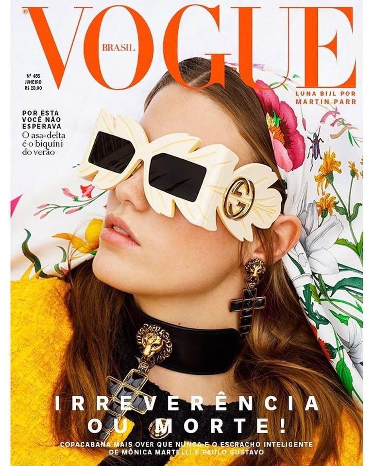 3ecfd955df65a Luna Bijl for Vogue Brazil January 2019 | Covers 2019 | Vogue brazil ...