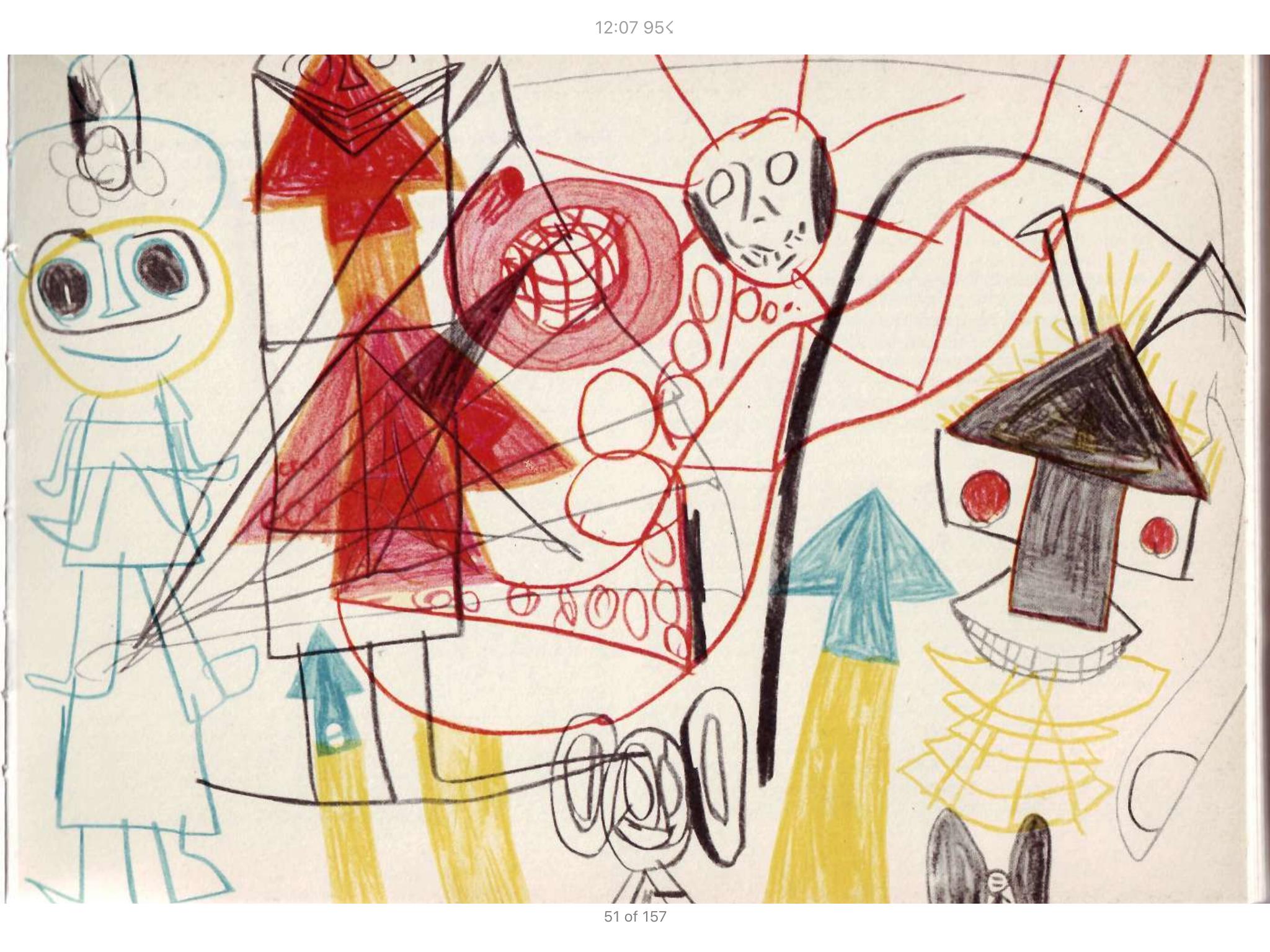 рисунки шизофреников с описанием - 3