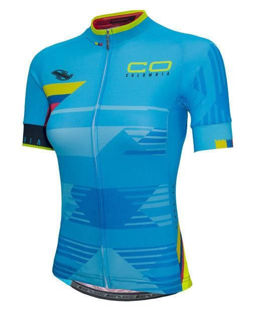 ec9e7df2e 2017 Suarez Colombian Collection  Women s Short Sleeve Cycling ...