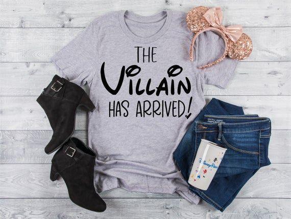Fantástico The Villain Has Arrived, Disney Halloween Couple tshirts, Villain Bachelorette Shirts, Ursula Shirt, The Villain Has Arrived, Disney Hallowee... #arrived #couple #disney #halloween #tshirts #villain