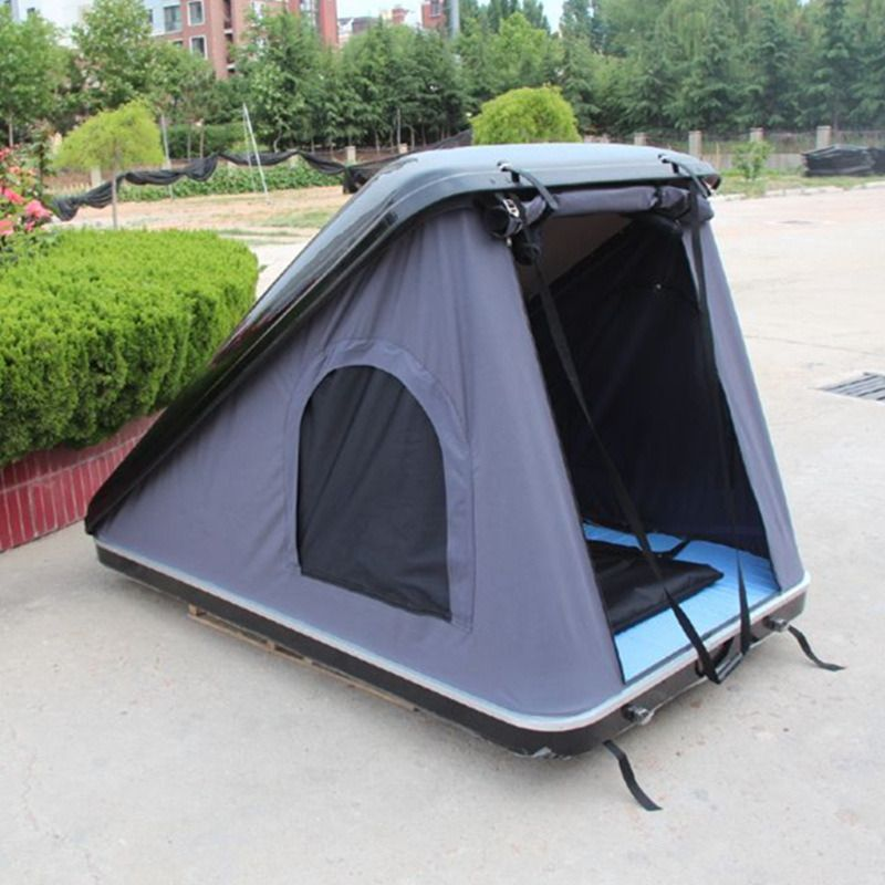 Overland Outdoor Camping Hard Shell Fiberglass Roof Top Car Roof Top Tent For Camping Top Tents Roof Top Tent Tent