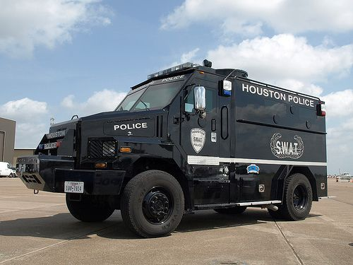 Houston Police Swat Texas Houston Police Police Truck Armored Truck