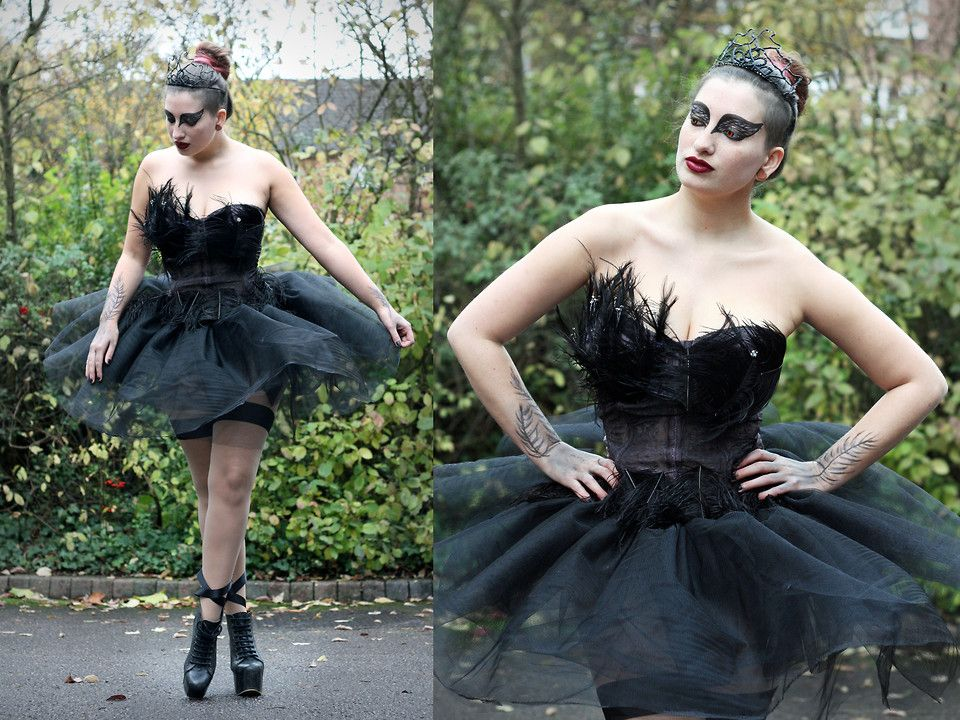 Pix For Black Swan Tiara Fancy Dress Tights Costumes For Women Black Swan Costume