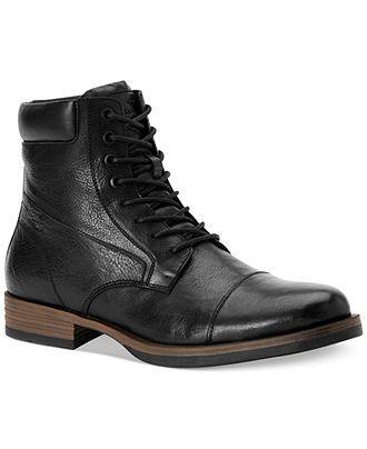 Calvin Klein Jeans Radman Boots - Boots - Men - Macy\'s   NEW NEW ...