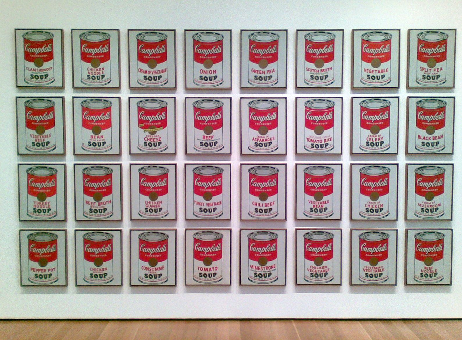 Andy Warhol Campbell S Soup Cans 1962 Moma Latas De Sopa Andy Warhol Andy Warhol Arte De Andy Warhol