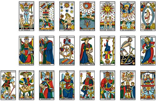 les cartes du tarot de marseille une technique de pr diction de pour. Black Bedroom Furniture Sets. Home Design Ideas