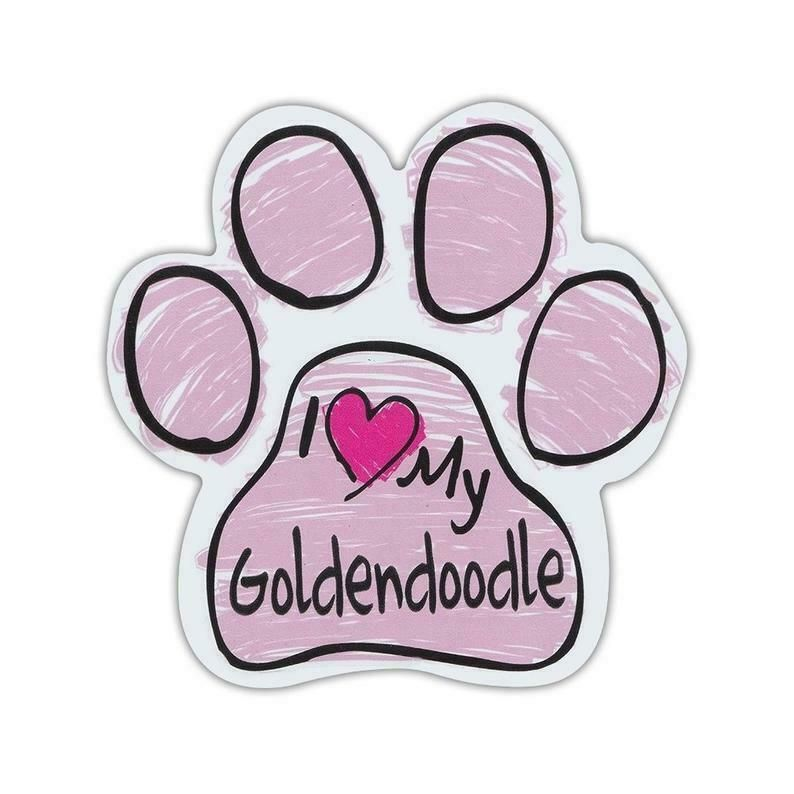 Trucks Gifts Cars Dog Paw Shaped Magnets: RESCUE IS OUR FAVORITE BREEDDogs