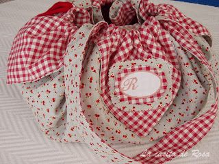 The pink house: Tutorial bag seams 1 of 2
