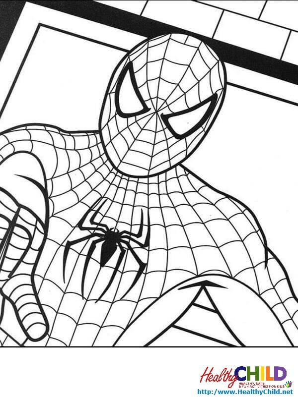 Spider-Man coloring pages | ART SIMPLE COLORING PAGES | Pinterest