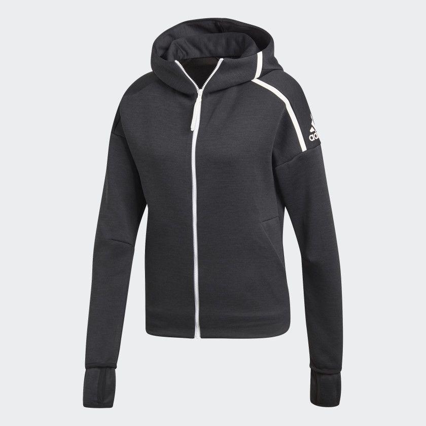 Chaqueta con capucha adidas Z.N.E. Fast Release Zne Htr