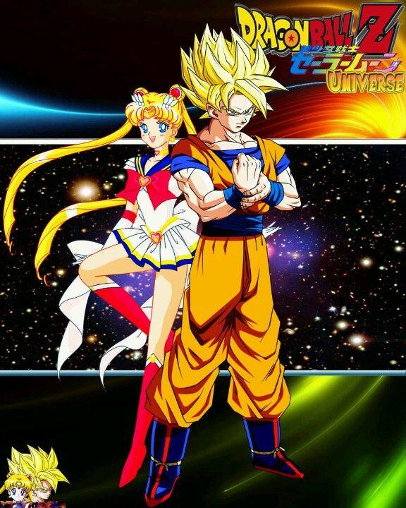 Sailor Moon And Goku
