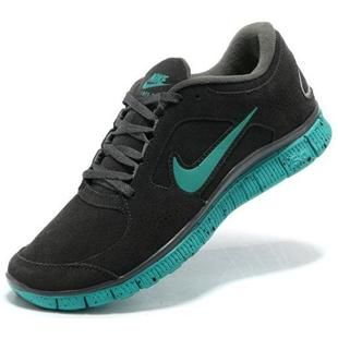 ada162afb0bd ... australia womens nike free run 3 leather dark grey green shoes a939c  cbee0