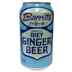 Barritts Diet Bermuda Ginger Beer 12 Oz 12 Cans Ginger Beer Beer Ingredients Diet Ginger Beer