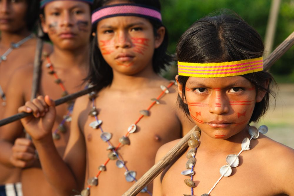 Photos of indigenous nudes