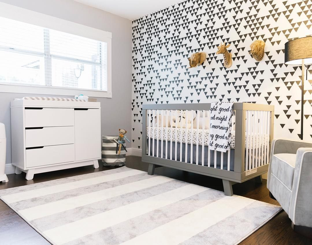 Babyletto On Instagram Babylettooh Hey Black White Grey A Cool And Contemporary Space For A Modern Baby Room Baby Room Neutral Nursery Furniture Sets White
