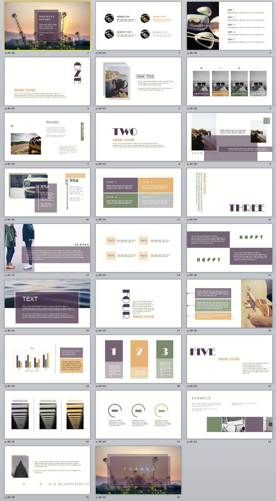 26 magazine style powerpoint templates presentation