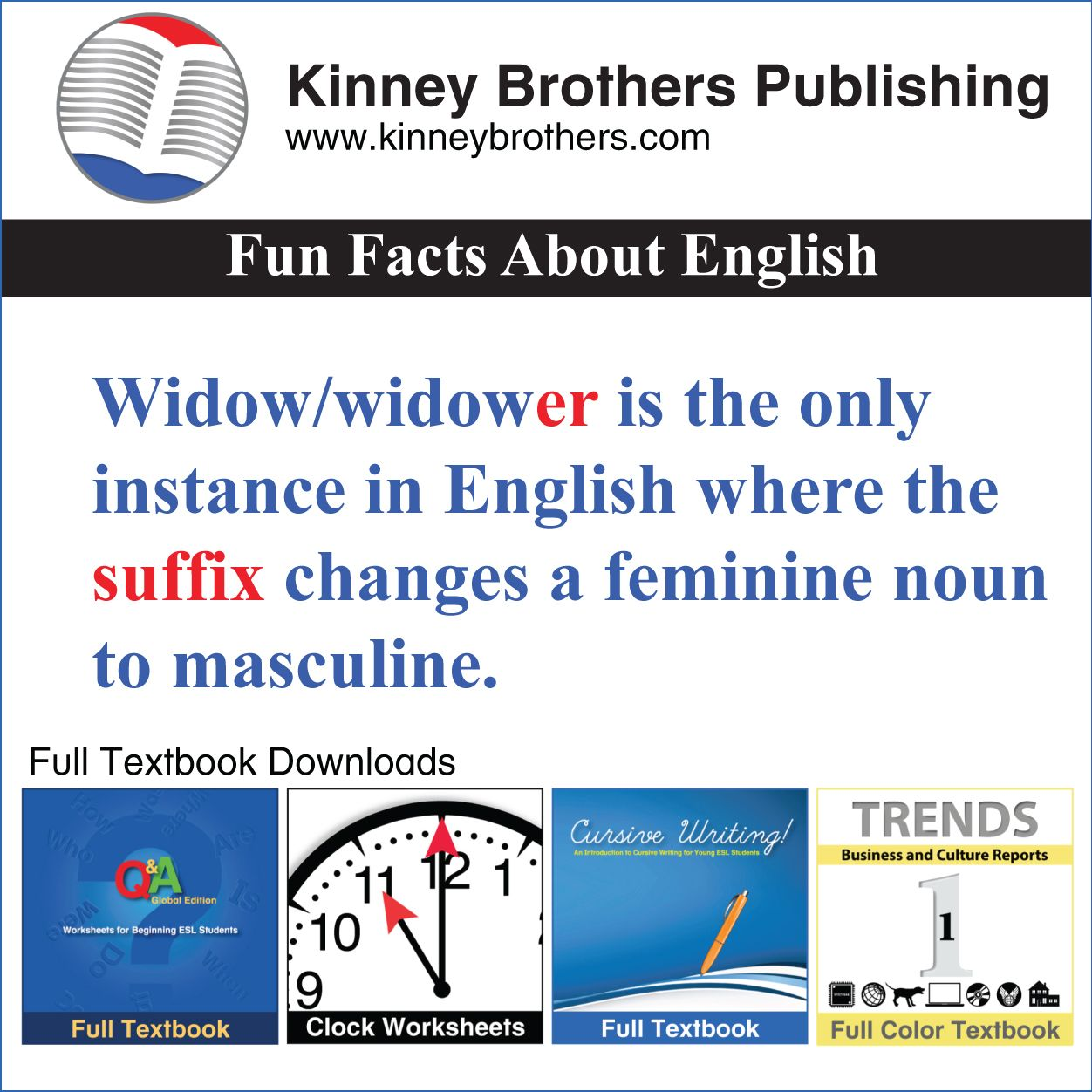 Pin On Esl Efl Ell Teaching Resources From Kinney Brothers
