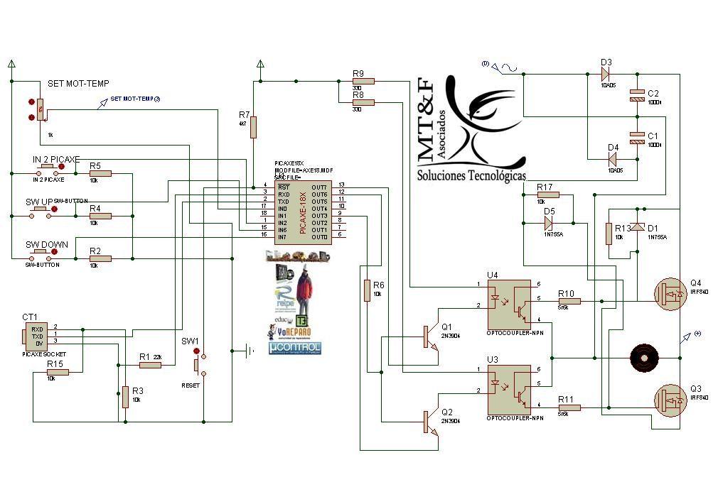 Circuito Variador De Frecuencia : Variador de frecuencia para ctrl velocidad motor ac