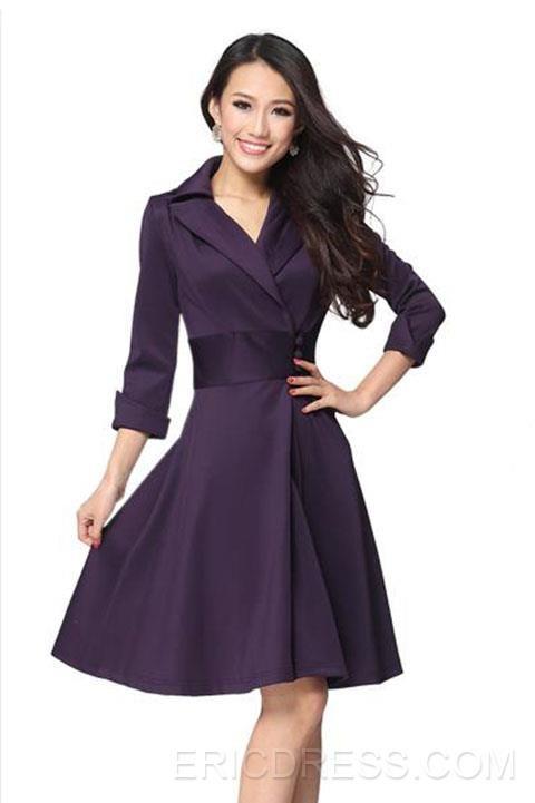 vestidos elegantes para jovenes CON MANGAS - Buscar con Google ...