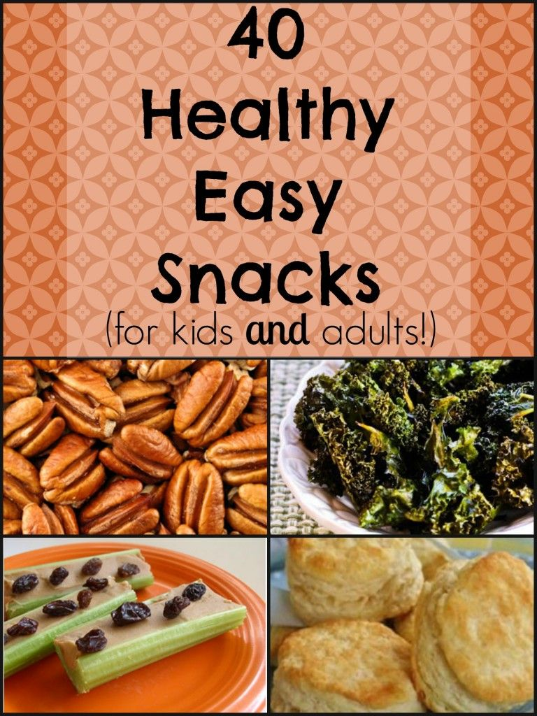 Natural Chow 40 Healthy Easy Snacks {for kids and adults