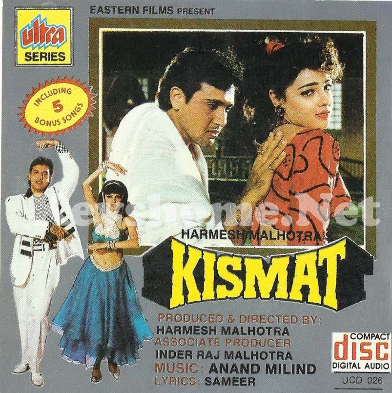 Kismat [1995-MP3-VBR-320Kbps] | Bollywood movie songs, Bollywood songs,  Bollywood posters