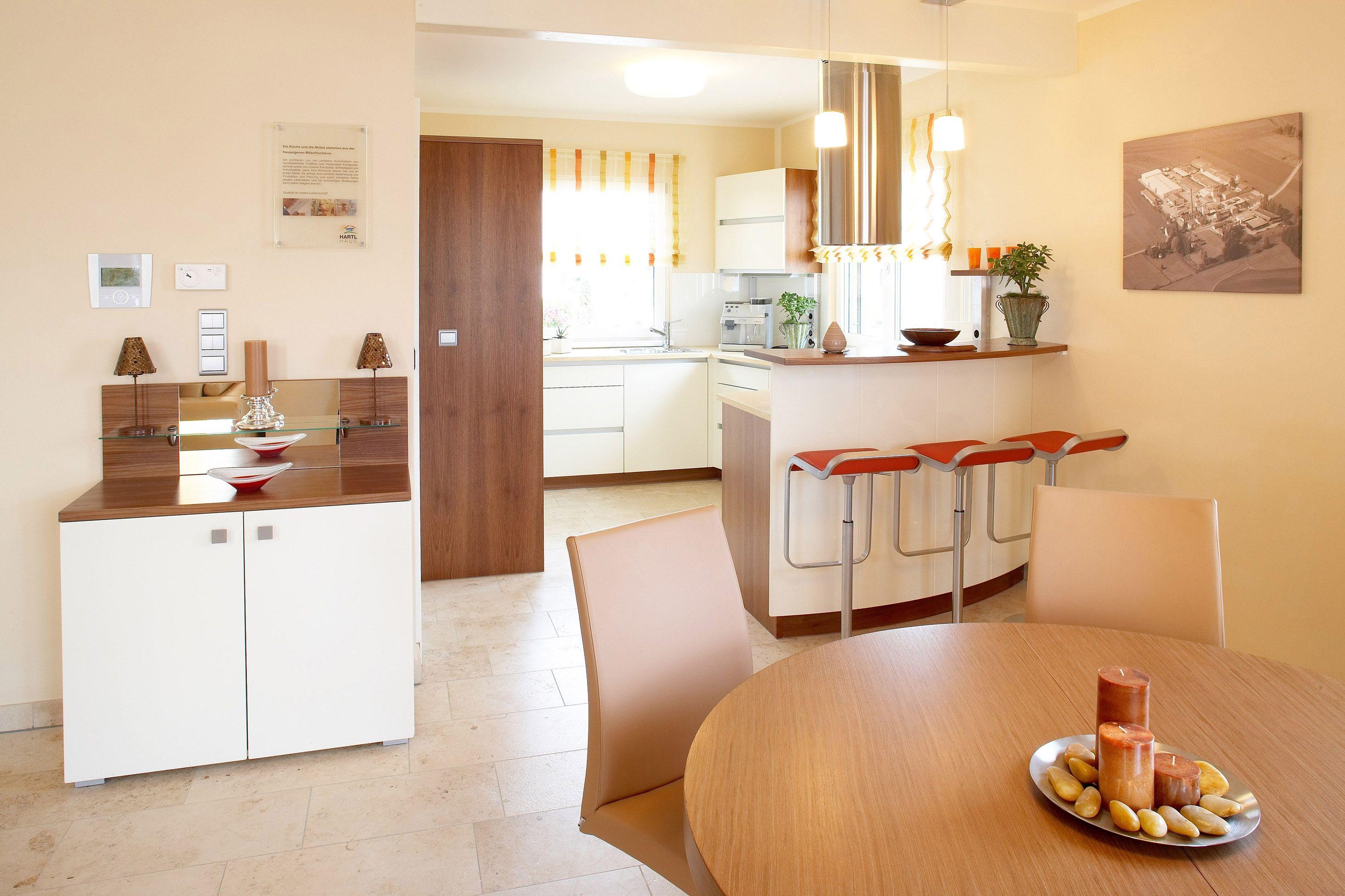 Hartl Haus Musterhaus Elegance 122 W Kuche Barrierefreies Wohnen Hartl Haus Offene Wohnraume