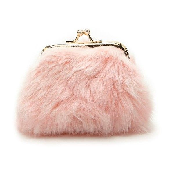 Forever21 Faux Fur Coin Purse ( 5.90) ❤ liked on Polyvore featuring bags 9a260037315cc