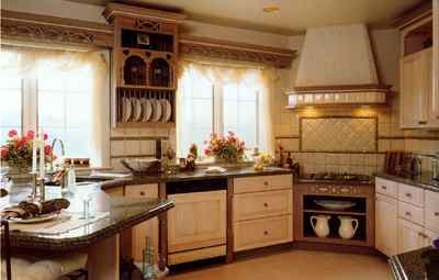 English Country Style In Traditional Kitchen Design no place like