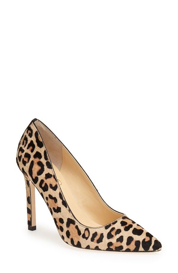 8d3e225f700 Our Claire pumps are crafted from leopard calf hair in a timeless pointed- toe silhouette. Let them pop with exotic flair opposite a LBD.