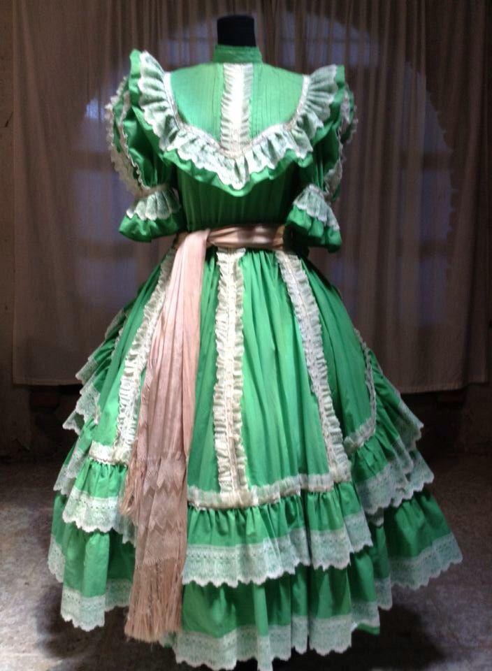 Vestido De Escaramuza Charra Diseñadora; Anel Granados ...