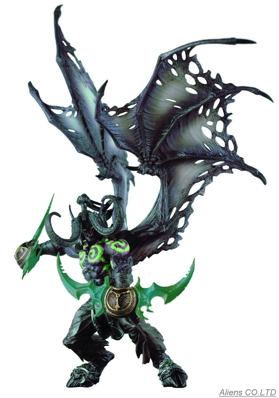 Arthas Menethil The Lich King Illidan Stormrage Cataclysm Deathwing Sylvanas Vashj Priestess Undead Warlock Wow Figure