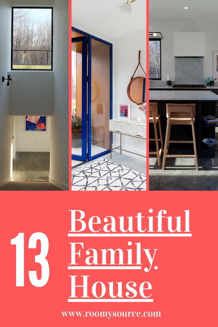 10 Lovely Family House #familyhouse #houseideas
