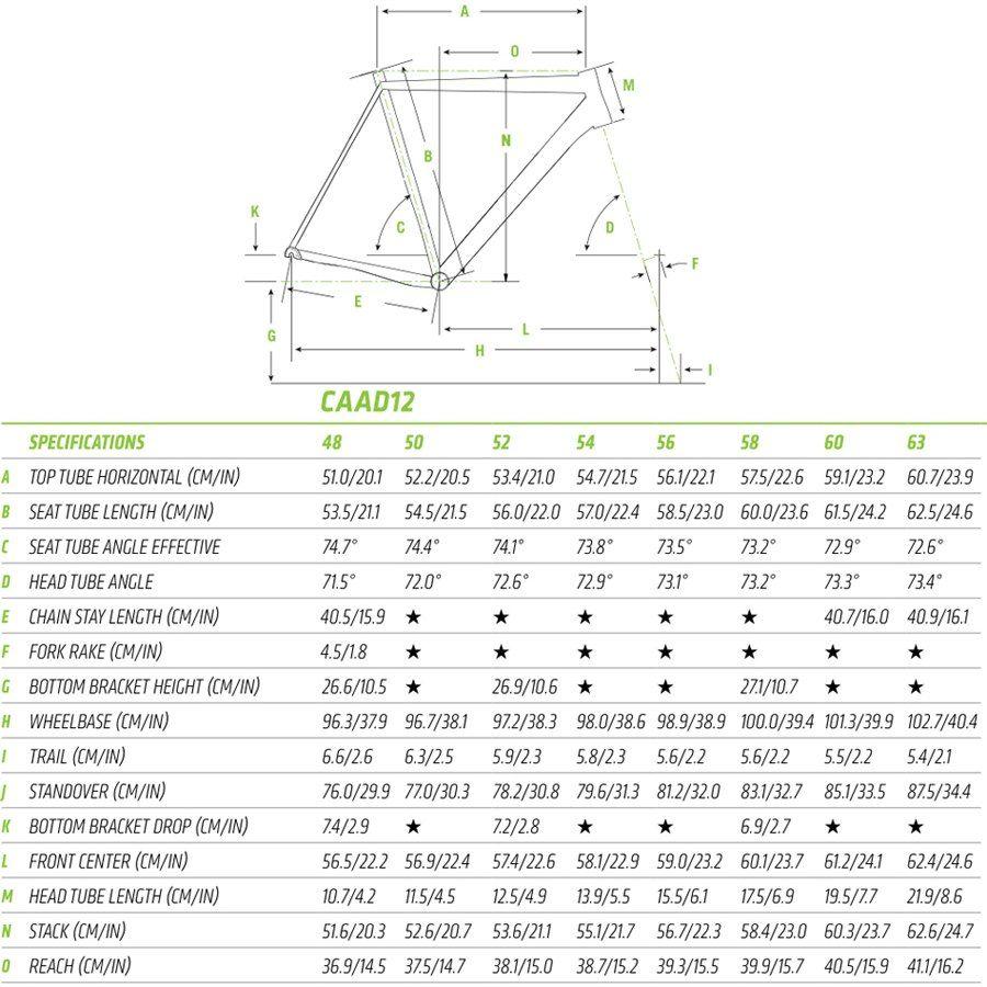 2016-Caad-12-Geometry.jpg (900×900)   Bike geometry   Pinterest