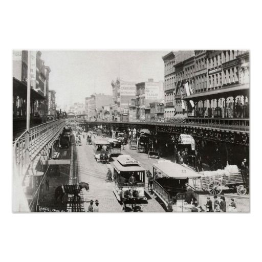 Bowery At Canal Street New York City 1895 Poster Zazzle Com In 2021 New York City Photos Modern Postcard Vintage New York