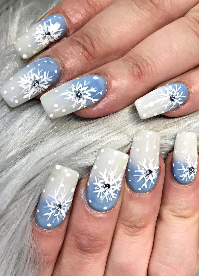 41 Suprising Christmas Nail Art Design Ideas For This New Year