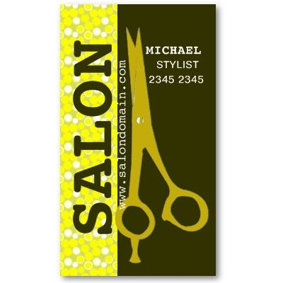 Beauty hair style salon trendy professional business cards custom beauty hair style salon trendy professional business cards custom text great for craft artists colourmoves